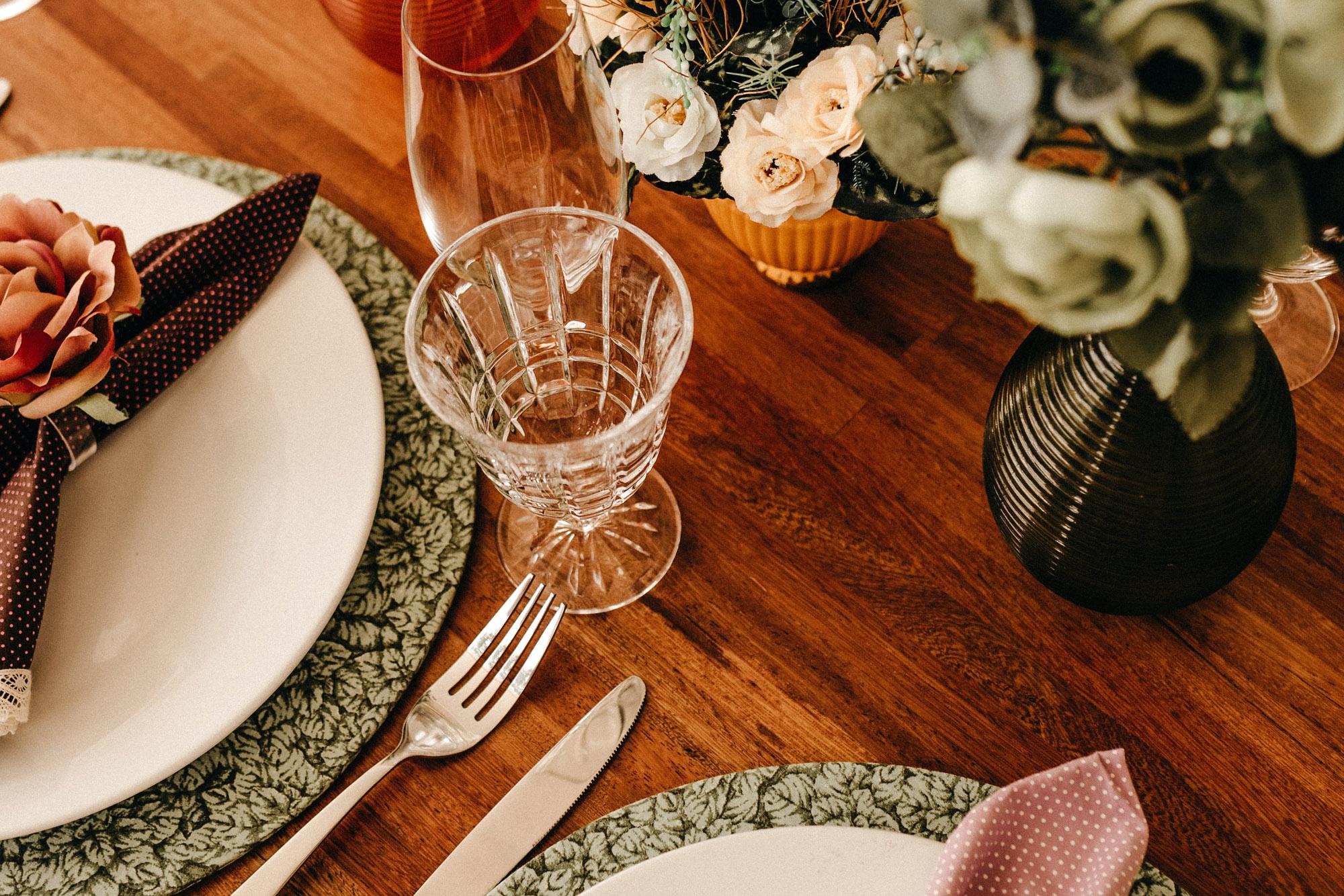 Wedding table | Highland wedding venue