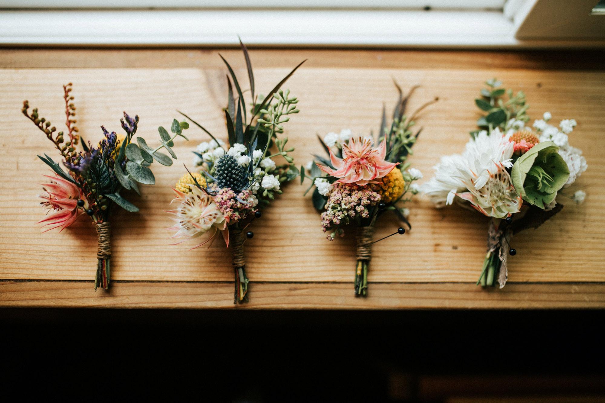 Wedding flowers | Highland wedding venue