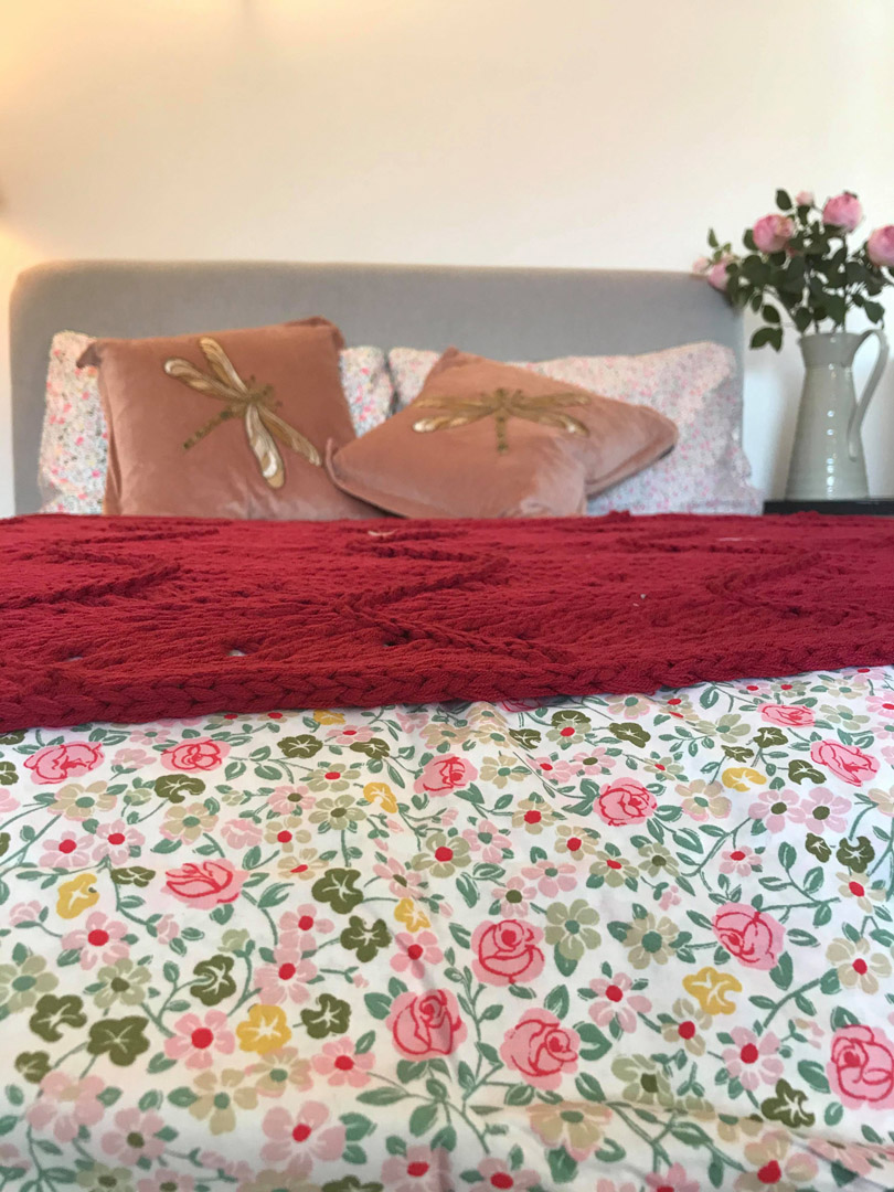 Lovely floral bedding | Hotel in the Highlands