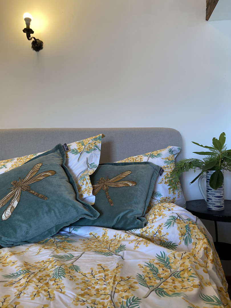 Bright bedding | Hotel in the Highlands