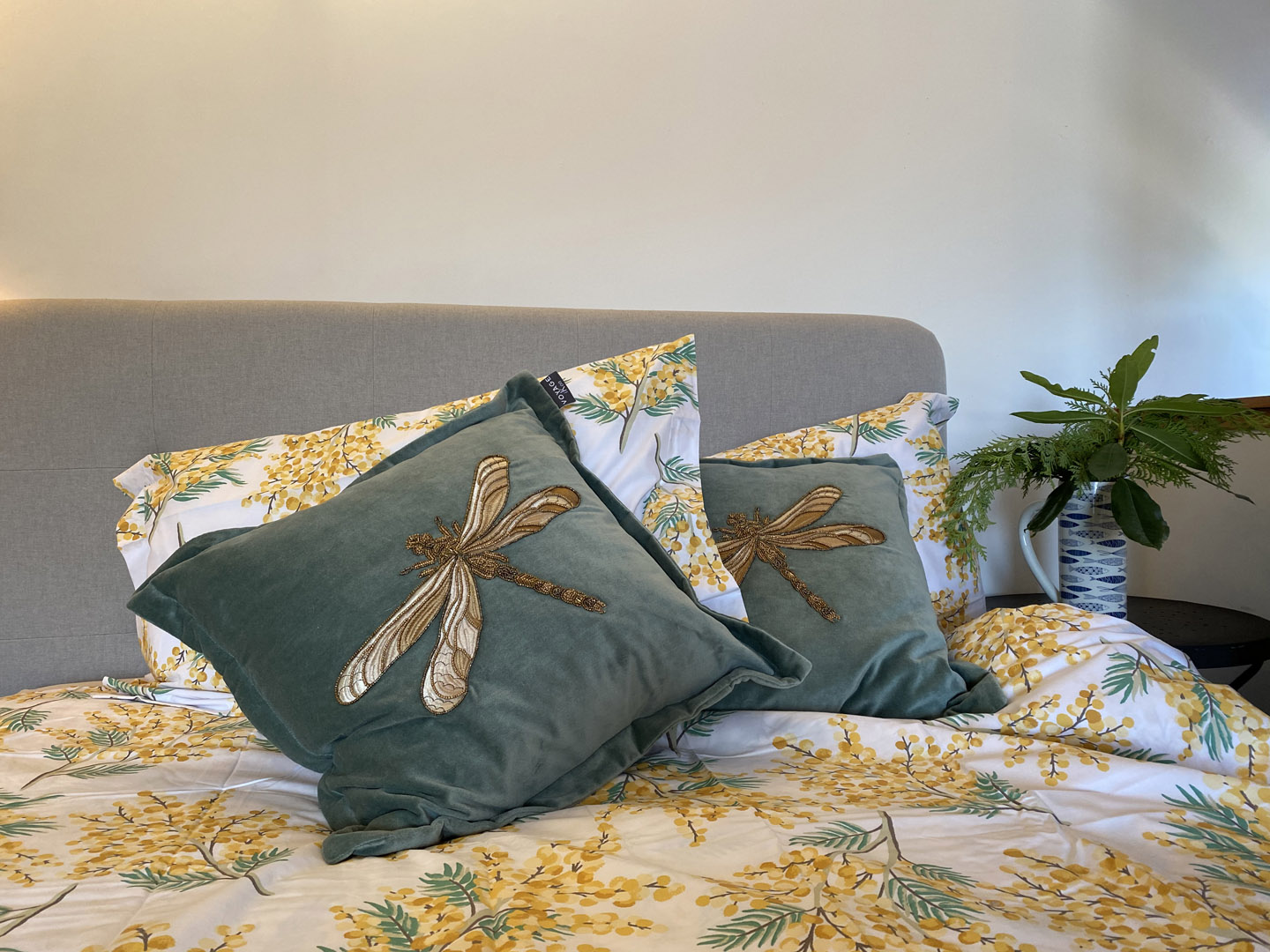 Comfy eclectic bedding | Hotel in the Highlands