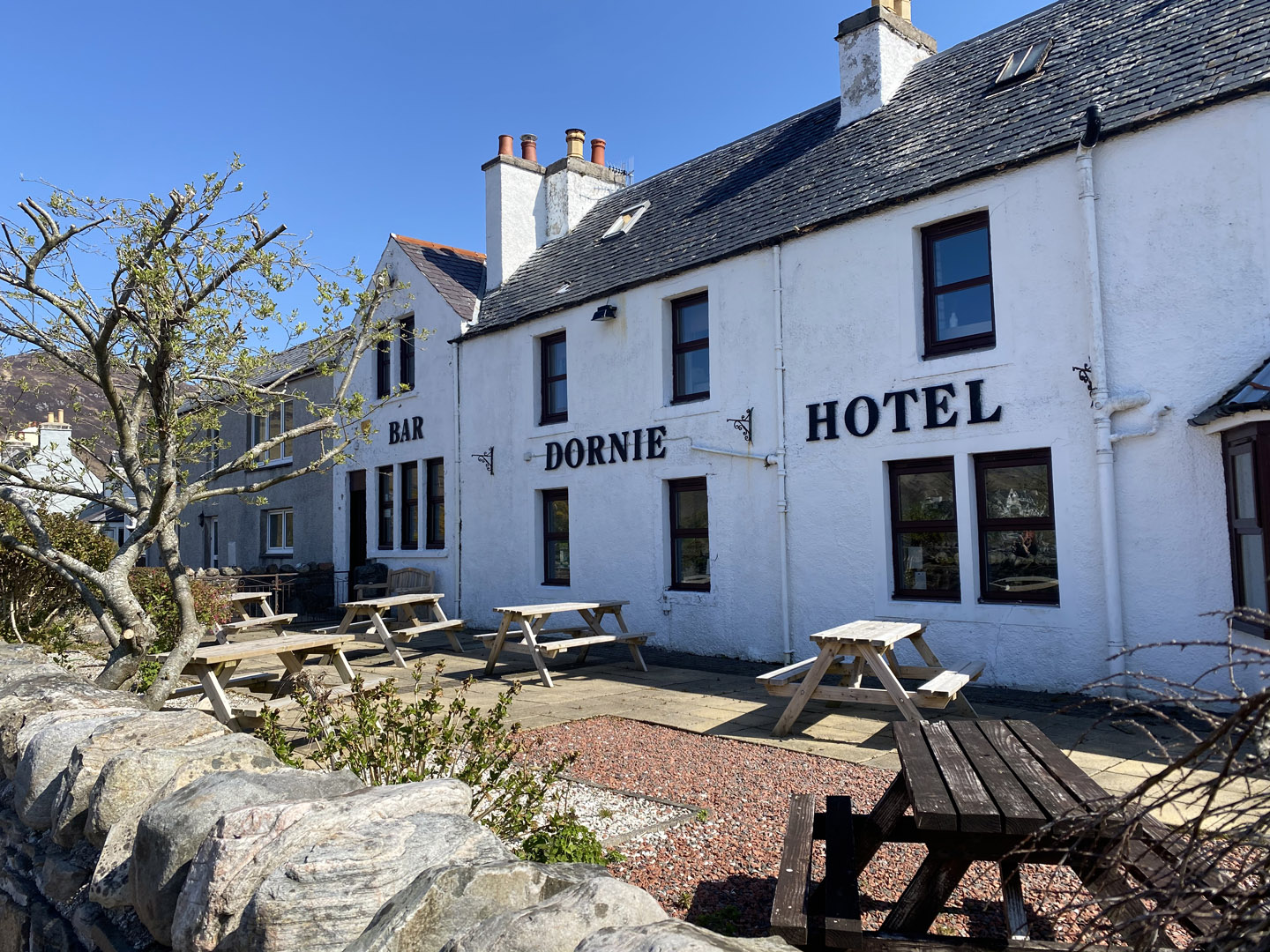 Outside seating area | Hotel in the Highlands