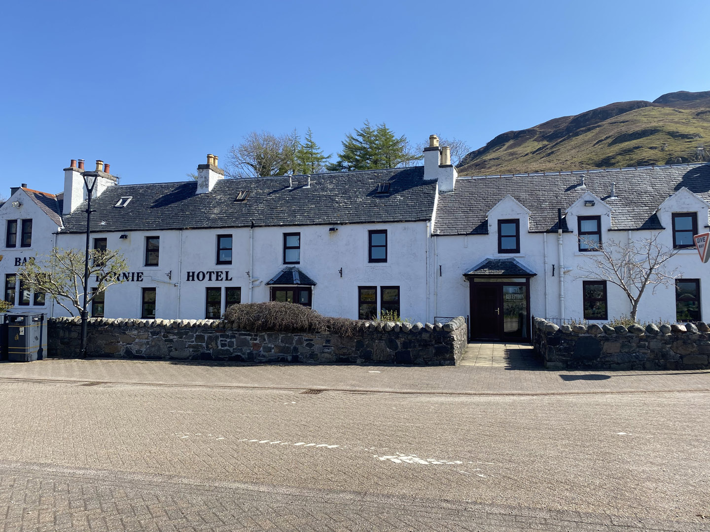 View of The Dornie | Hotel in the Highlands