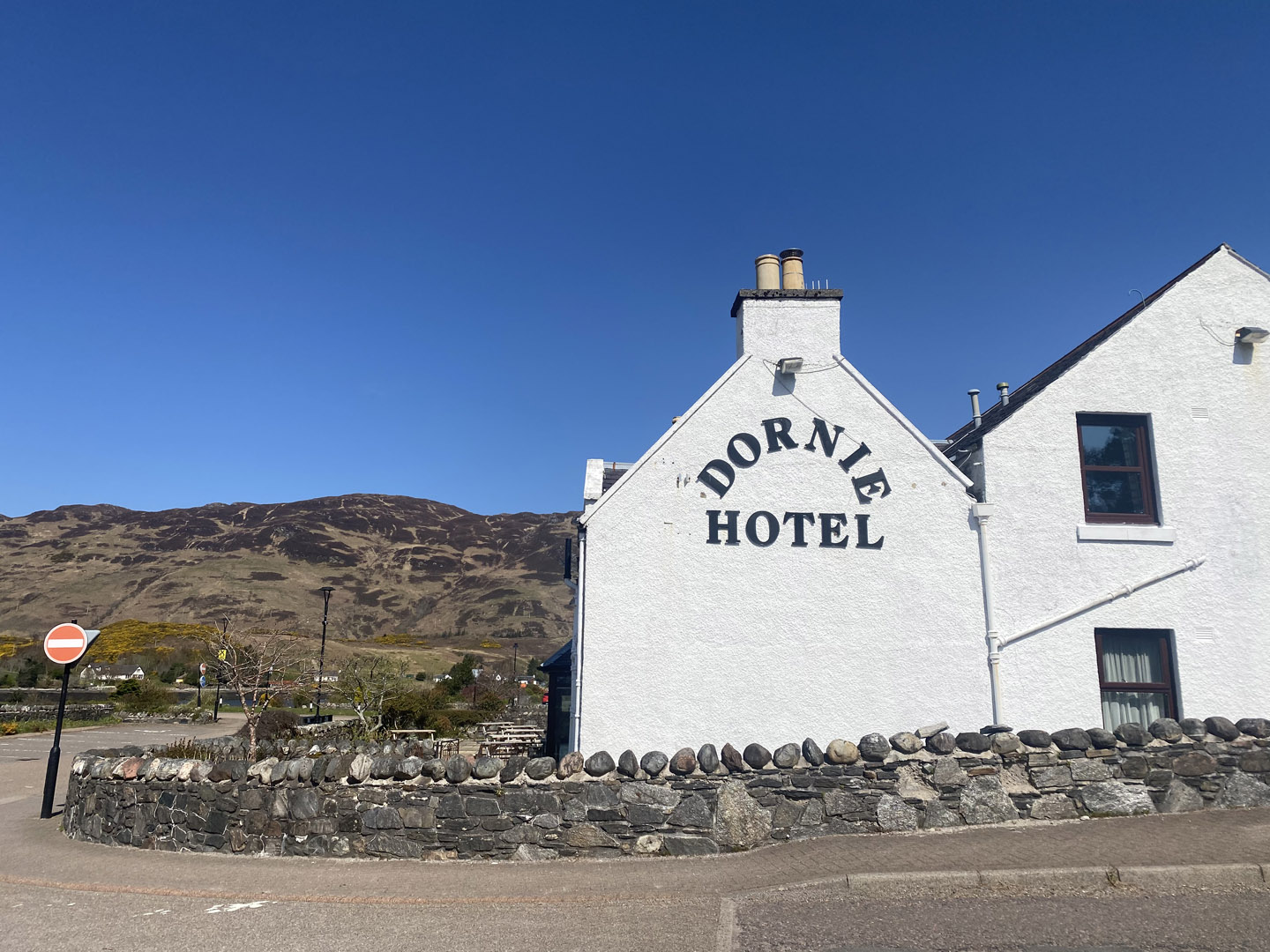 The Dornie from the street | Hotel in the Highlands