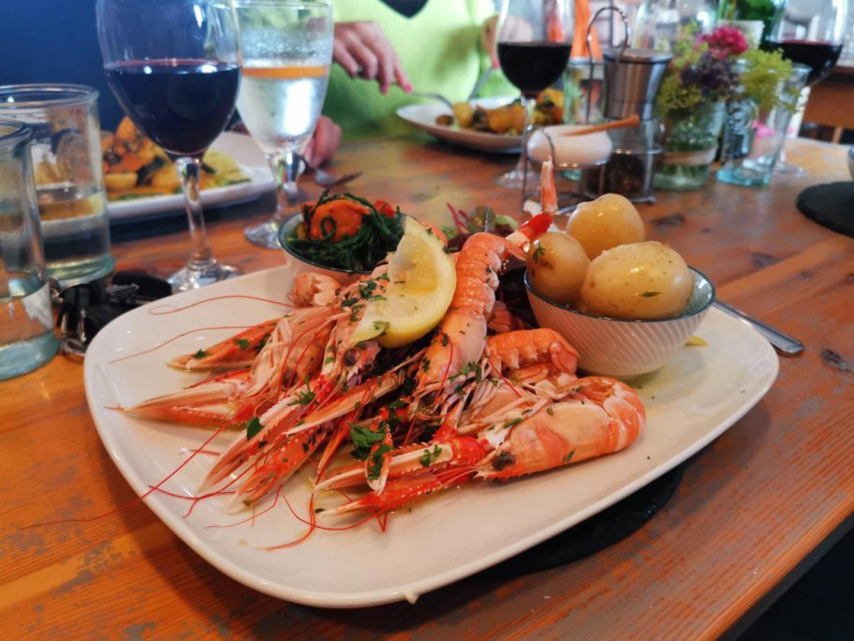 Prawns | Seafood restaurant near Skye
