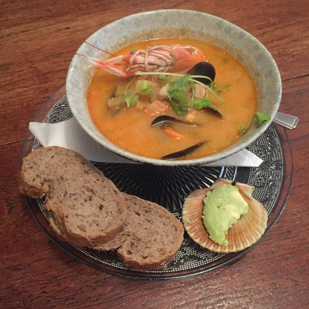 Seafood chowder | Seafood restaurant near Skye